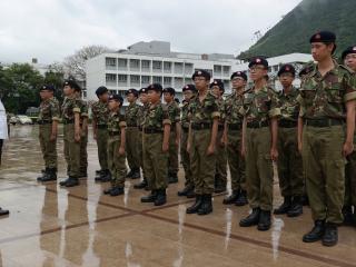 香港少年領袖團2016畢業會操